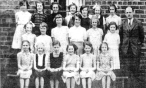 Sloan Street Primary School pictured during Coronation year -1953